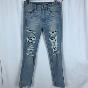 American Eagle outfitters distressed jeans, 12